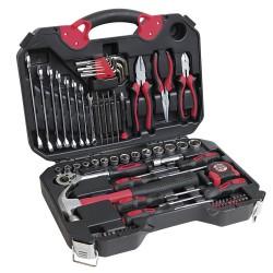 Набор ручного инструмента, Cr-V сталь, 78 предметов.