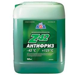 Антифриз, готовый к применению AGA Z42 (9.46 л/10 кг)