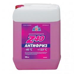 Антифриз, готовый к применению AGA Z40 (9.46 л/10 кг)