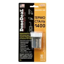 Термосталь - термостойкий сверхпрочный ремонтный герметик 85г