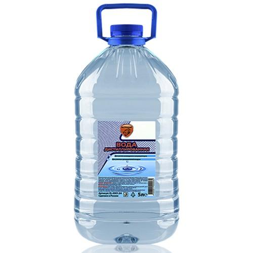 Дистиллированная вода. 5 л.