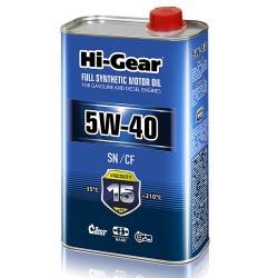 5W-40 SN/CF  Масло моторное синтетическое. 1 литр.