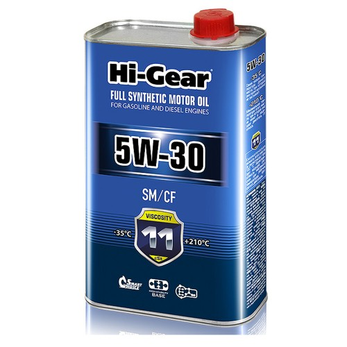 5W-30 SM/CF  Масло моторное синтетическое. 1 литр.
