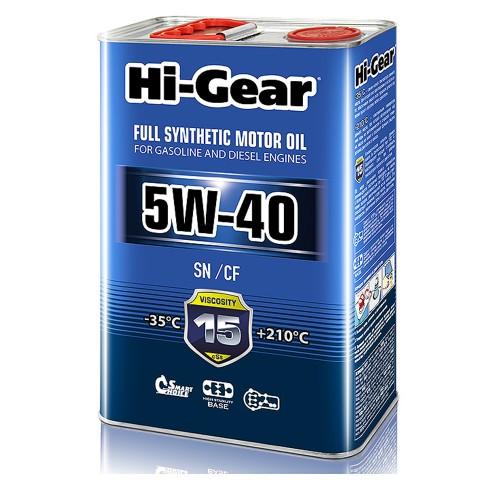5W-40 SN/CF  Масло моторное синтетическое. 4 литра.