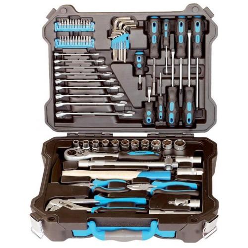 Набор инструмента профессионального качества для автомобиля, 73 предмета.