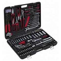 Набор инструмента профессионального качества для автомобиля, Cr-V сталь, 172 предмета.